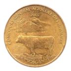 (FMED.Méd.even.2007.CuAlNi1.sup.000000002) Jeton événementiel - Concours général agricole des animaux Avers