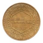 (FMED.Méd.souv.2010.CuAlNi1.ttb+[]sup.000000001) Jeton souvenir - Le Saunier de Camargue Revers