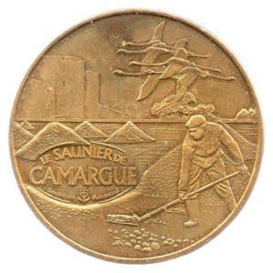 (FMED.Méd.souv.2010.CuAlNi1.ttb+[]sup.000000001) Memory token - Le Saunier de Camargue Obverse (zoom)