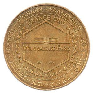 (FMED.Méd.souv.2010.CuAlNi1.ttb+[]sup.000000001) Memory token - Le Saunier de Camargue Reverse (zoom)