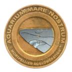 (FMED.Méd.tourist.2012.CuAlNi-1.ttb+[]sup.000000001) Jeton touristique - Aquarium Mare Nostrum Avers