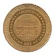 (FMED.Méd.tourist.2013.CuAlNi3.sup.000000001) Jeton touristique - Château royal de Collioure Revers
