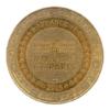 (FMED.Méd.tourist.2015.CuAlNi1.-3.1.1.sup.000000001) Jeton touristique - Eglise de Saint-Nectaire Revers