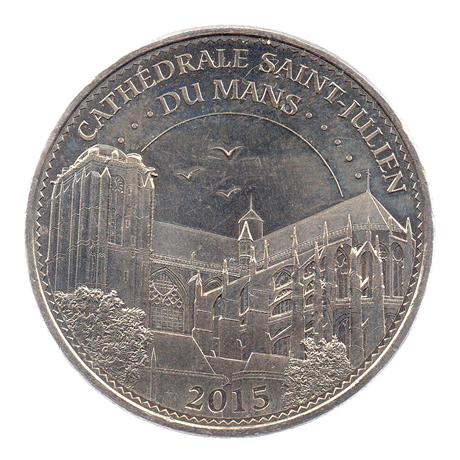 (FMED.Méd.tourist.2015.CuNi-5.1.spl.000000001) Jeton touristique - Cathédrale Saint-Julien du Mans Avers