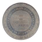 (FMED.Méd.tourist.2015.CuNi-5.1.spl.000000001) Jeton touristique - Cathédrale Saint-Julien du Mans Revers