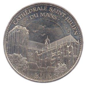 (FMED.Méd.tourist.2015.CuNi-5.1.spl.000000001) Tourism token - Saint Julian Cathedral Obverse (zoom)