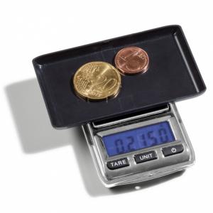 (MAT01.Matman.Man1.1.344222) Balance numismatique numérique Leuchtturm (en cours d'utilisation) (zoom)