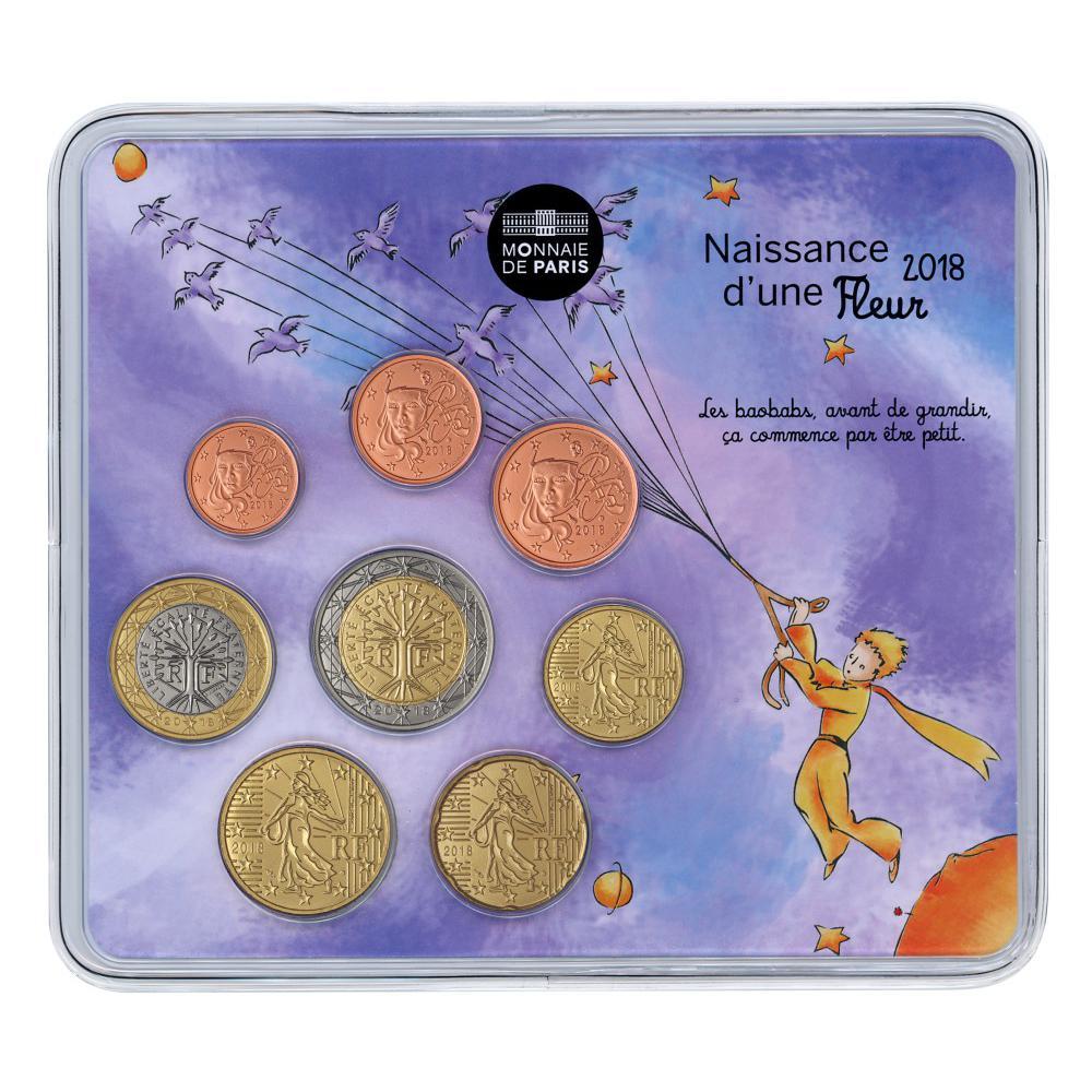 Mini Set Bu France 2018 Naissance Fille
