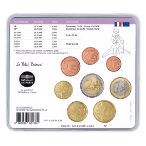 Mini-set BU France 2018 - Naissance fille Verso (zoom)