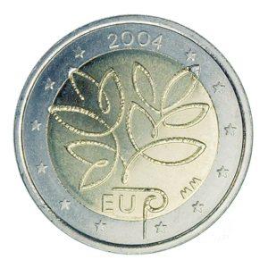 2 euro commémorative Finlande 2004 - Elargissement de l'UE Avers