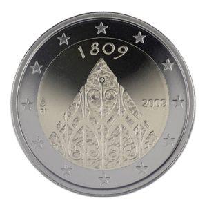 2 euro commémorative Finlande 2009 - Autonomie de la Finlande Avers