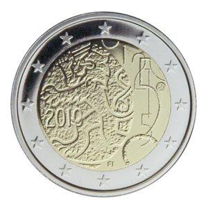 2 euro commémorative Finlande 2010 - Monnaie finlandaise Avers
