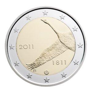 2 euro commémorative Finlande 2011 - Banque de Finlande Avers