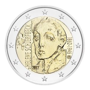 2 euro commémorative Finlande 2012 - Helene Schjerfbeck Avers
