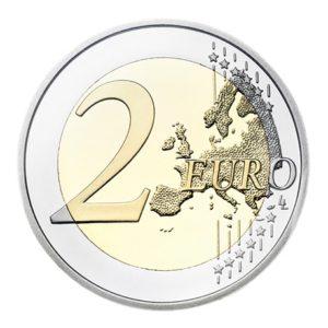 2 euro commémorative Finlande 2012 - Helene Schjerfbeck Revers
