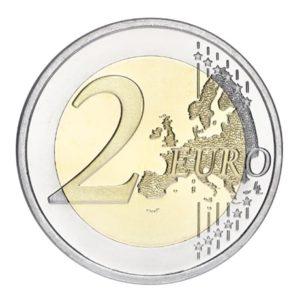 2 euro commémorative Finlande 2013 - Frans Eemil Sillanpää Revers