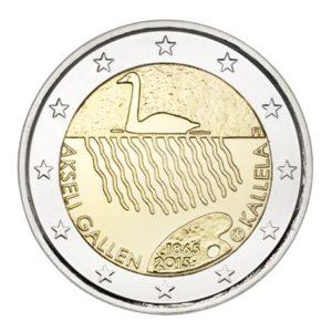 2 euro commémorative Finlande 2015 - Akseli Gallen-Kallela Avers