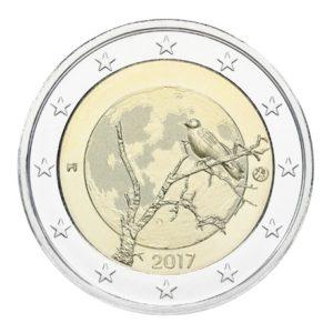 2 euro commémorative Finlande 2017 - Nature finlandaise Avers