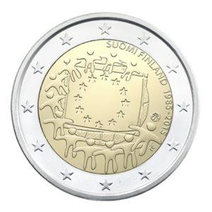 2 euro commemorative coin Finland 2015 - 30th anniversary of European flag Obverse