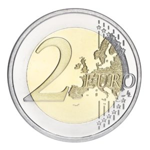 2 euro commemorative coin Finland 2015 - Johan Julius Christian Sibelius Reverse