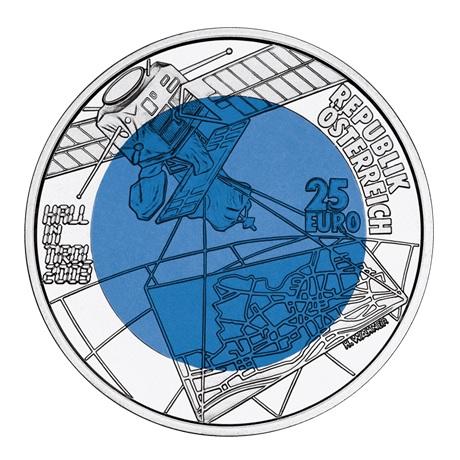 25 euro Autriche 2003 - Hall en Tyrol Avers