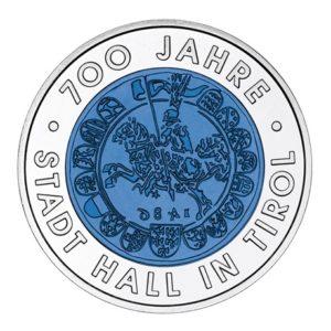 25 euro Autriche 2003 - Hall en Tyrol Revers