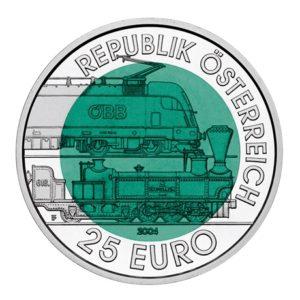 25 euro Autriche 2004 - Chemin de fer de Semmering Avers