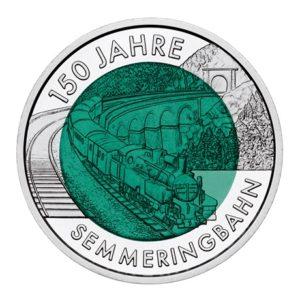 25 euro Autriche 2004 - Chemin de fer de Semmering Revers