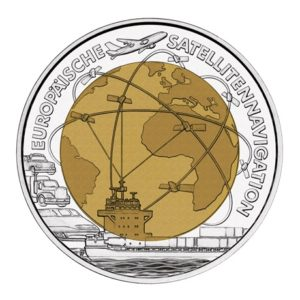 25 euro Autriche 2006 - Navigation européenne par satellite Revers
