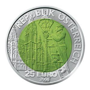 25 euro Autriche 2008 - Fascinante lumière Avers