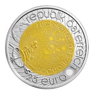 25 euro Autriche 2009 - Année mondiale de l'astronomie Avers