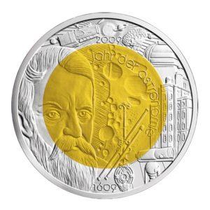 25 euro Autriche 2009 - Année mondiale de l'astronomie Revers