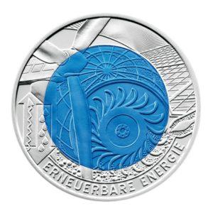 25 euro Autriche 2010 - Energie renouvelable Revers