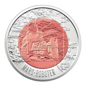 25 euro Autriche 2011 - Robotique Revers