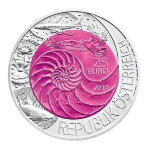 25 euro Autriche 2012 - Bionique Avers