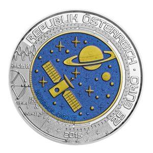 25 euro Autriche 2015 - Cosmologie Avers