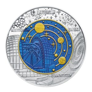 25 euro Autriche 2015 - Cosmologie Revers
