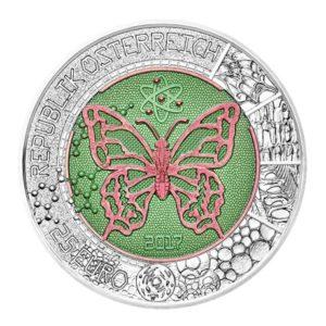 25 euro Autriche 2017 - Microcosme Avers