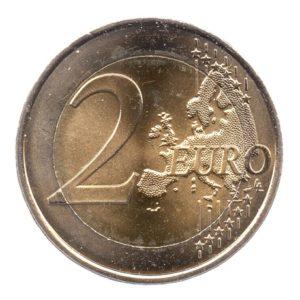 (EUR07.200.2010.COM1.spl.000000001) 2 euro commémorative France 2010 - De Gaulle Revers