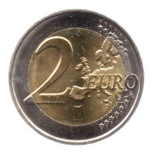 (EUR07.200.2013.COM2.spl.000000001) 2 euro commémorative France 2010 - Pierre de Coubertin Revers