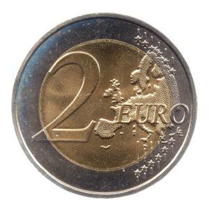 (EUR07.200.2014.COM1.spl.000000001) 2 euro commémorative France 2014 - Débarquement allié en Normandie Revers