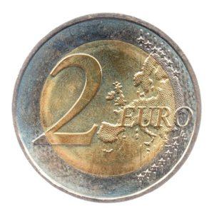 (EUR07.200.2015.COM3.spl.000000001) 2 euro commémorative France 2015 - Drapeau européen Revers