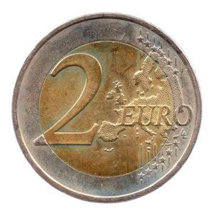 (EUR08.200.2010.COM1.spl.000000001) 2 euro commémorative Grèce 2010 - Marathon Revers