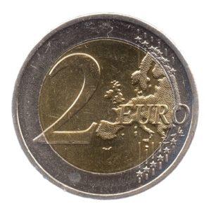 (EUR08.200.2012.COM1.spl.000000001) 2 euro commémorative Grèce 2012 - 10 ans de l'euro fiduciaire Revers