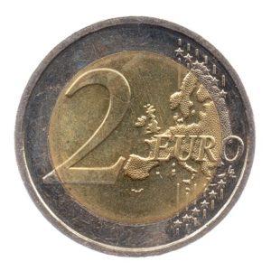 (EUR09.200.2015.COM1.spl.000000001) 2 euro commémorative Irlande 2015 - Drapeau européen Revers