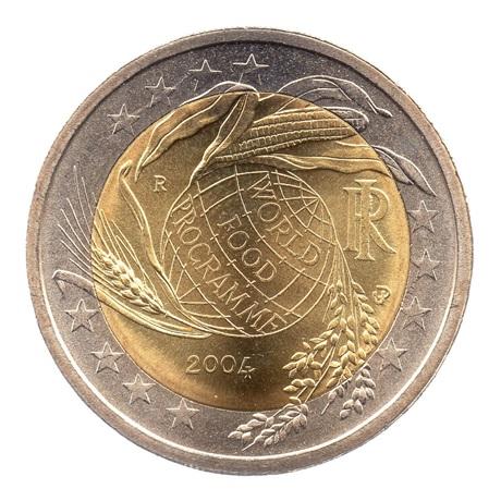 (EUR10.200.2004.COM1.spl.000000001) 2 euro commémorative Italie 2004 - Programme alimentaire mondial Avers