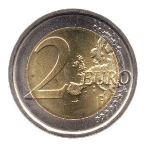 (EUR10.200.2015.COM3.spl.000000001) 2 euro commémorative Italie 2015 - Drapeau européen Revers