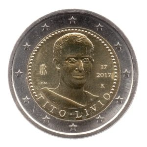 (EUR10.200.2017.COM1.spl.000000001) 2 euro commémorative Italie 2017 - Tite-Live Avers