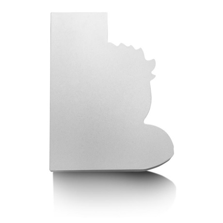 (FMED.Méd.MdP.Ag[]CuZn1) Médaille bronze florentin argenté - Le Petit Prince et le Renard Revers