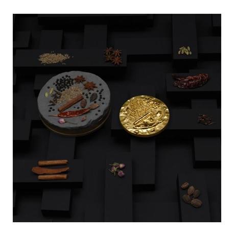 (FMED.Méd.MdP.n.d._2018_.Au[]CuZn1) Médaille bronze florentin doré - Garam Massala (visuel complémentaire)